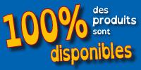 Chez BBI, 100% des produits sont disponibles