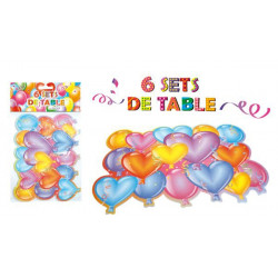 MPEA9333 - LOT 6 SETS DE TABLE