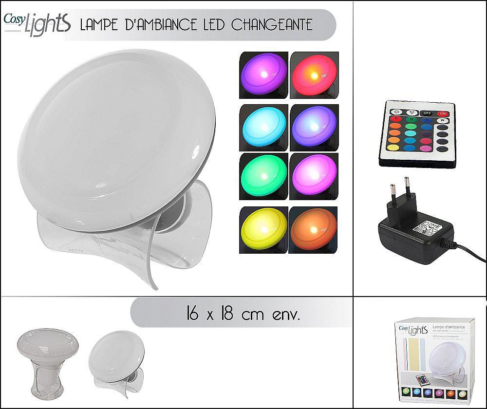 ChangeanteVente Lots D'ambiance Lampe Led D A De Couleur Lampes USMVzp