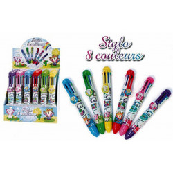 STYLO 8 COULEURS