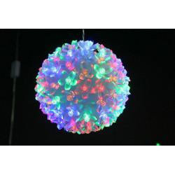 BOULE 100 LED FLEURS