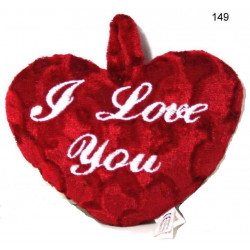 PELUCHE COEUR I LOVE YOU 45 CM