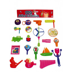1507 - LOT 100 JOUETS KERMESSE ASSORTIS