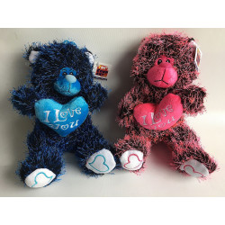 PELUCHE OURS ASSIS 28 CM