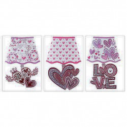 LAMPE STICKER DECOR LOVE