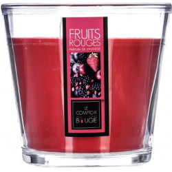 BOUGIE EVASE 500G FRUIT ROUGE