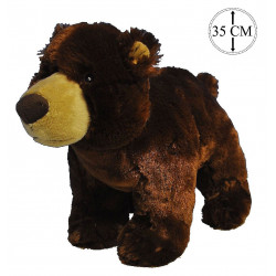 PELUCHE OURS 35 CM