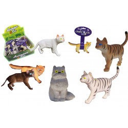 CHAT PVC ASSORTIS 11 CM