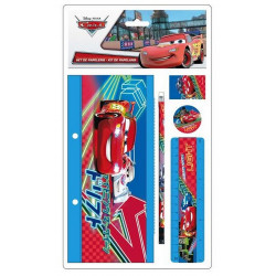 SET DE PAPETERIE CARS 5 PIECES