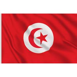 DRAPEAU 90*150 CM TUNISIE