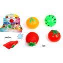 BALLE SPLASH FRUITS 6 CM