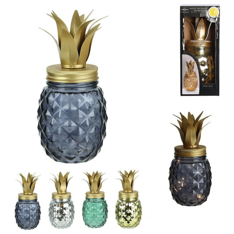 Mason Jar Lampe Ananas Led Vente De Lots Deco Cado Pour Vos