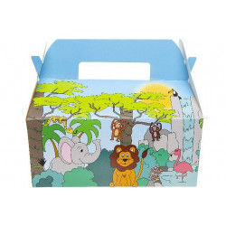 BOITE MENU ENFANT JUNGLE