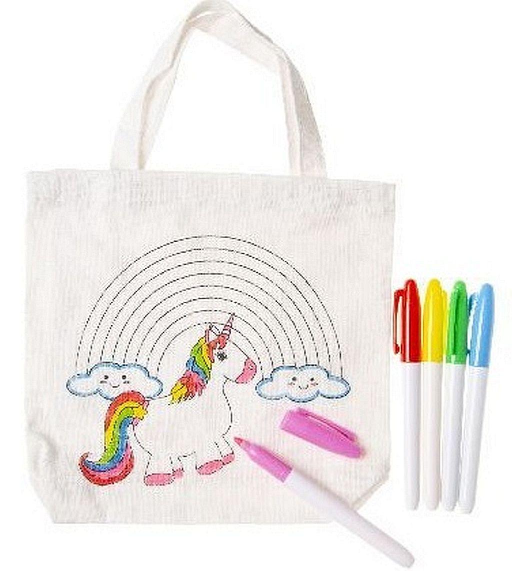 Coloriage Kermesse Ecole.Sac A Main A Colorier Licorne Vente De Lots Articles Fille Pour