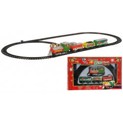 CIRCUIT TRAIN DE NOEL 9 PIECES