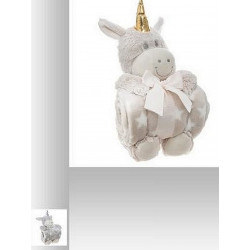 PELUCHE LICORNE ET SON PLAID