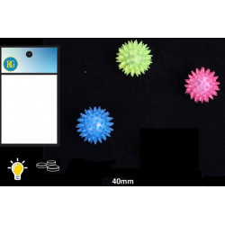 BALLE PICOTS LUMINEUSE 4 CM