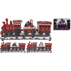 TRAIN DE NOEL FIXE A LED...