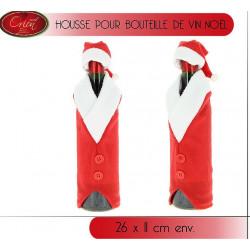 HOUSSE DE NOEL POUR BOUTEILLES