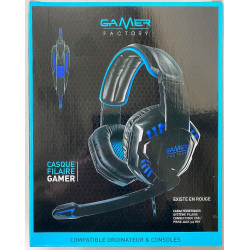 CASQUE GAMER MICROPHONE LED