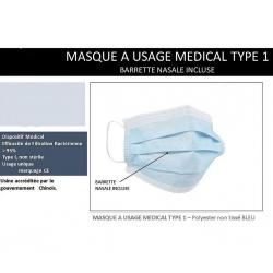 MASQUE MEDICAL TYPE 1-...