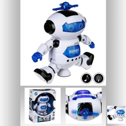 ROBOT DANSEUR SON ET LUMIERE