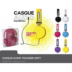 CASQUE AUDIO TOUCHER SOFT