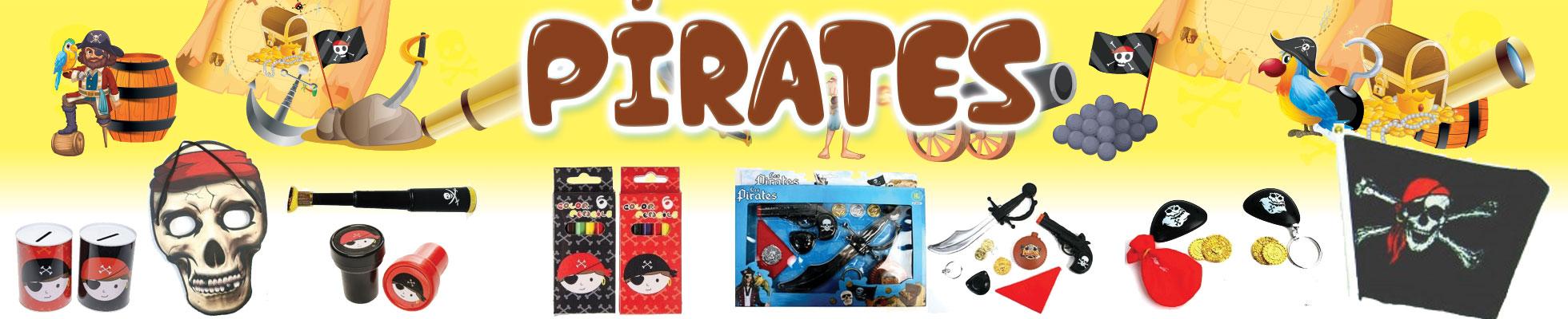 Articles de kermesse sur le thème des pirates