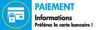 Informations sur les paiement chez BBI Kermesse